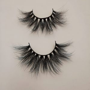 25mm mink strip lashes eyelash manufacturer mink lashes vendor