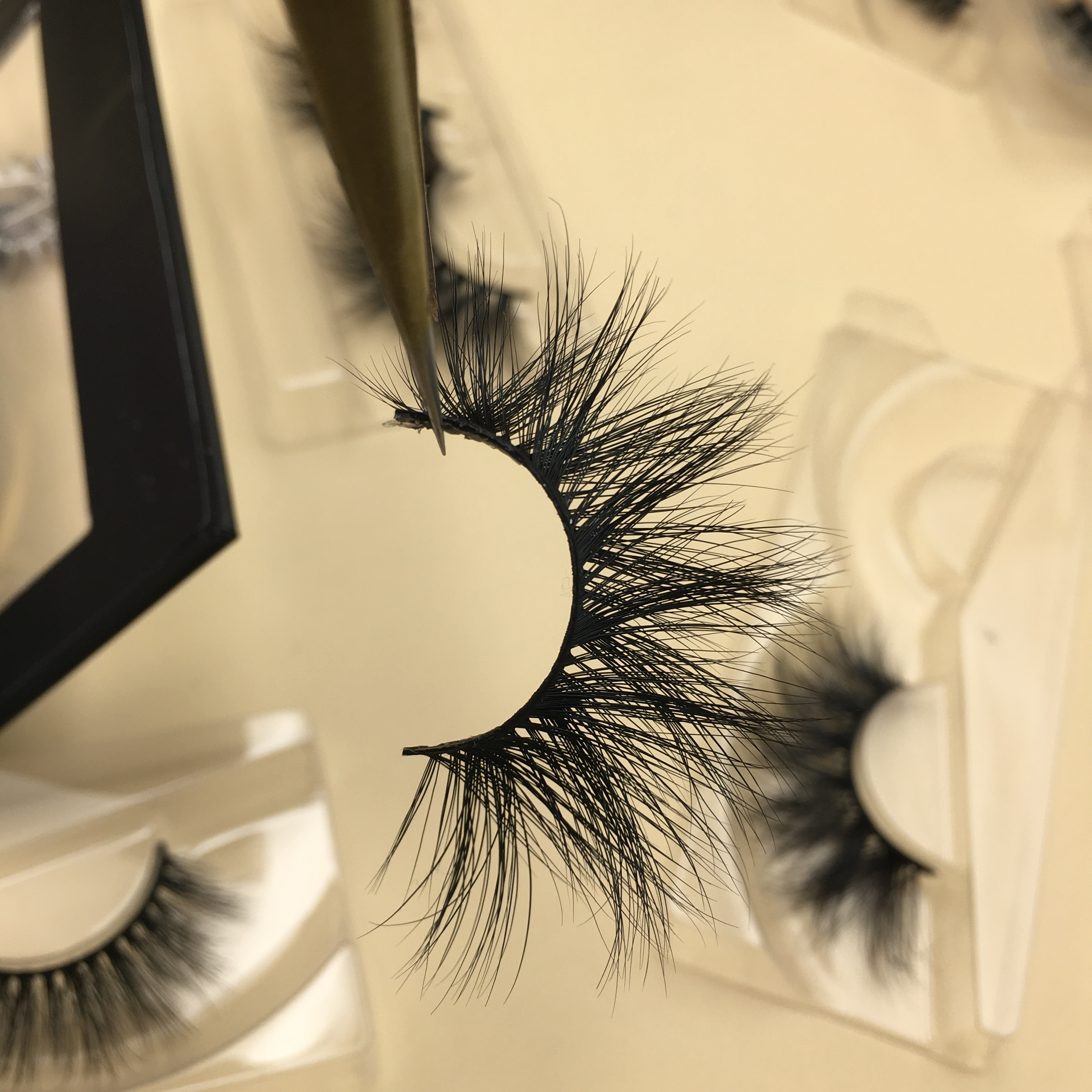 3D Mink Lashes Wholesale USA 20mm 25mm Mink Strip Lashes Vendors